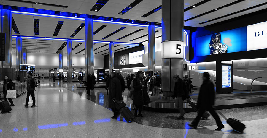 Tech Company Joins Forces with Digital Signage Firm to Offer Real Time Analytics for Airports