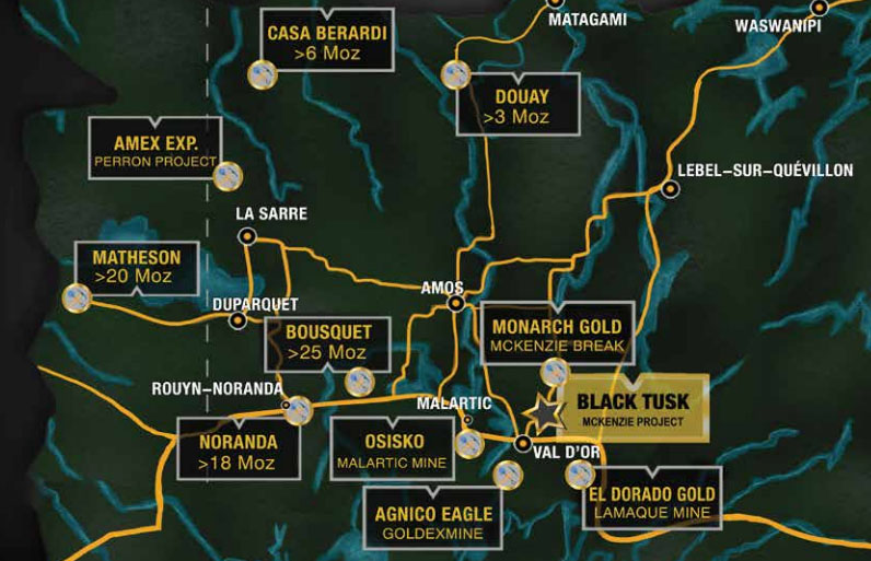 Gold Explorer Contracts for Magnetometer Survey of Quebec Gold Project