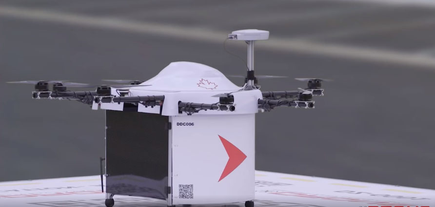 Drone Delivery Canada Opens Operations Center