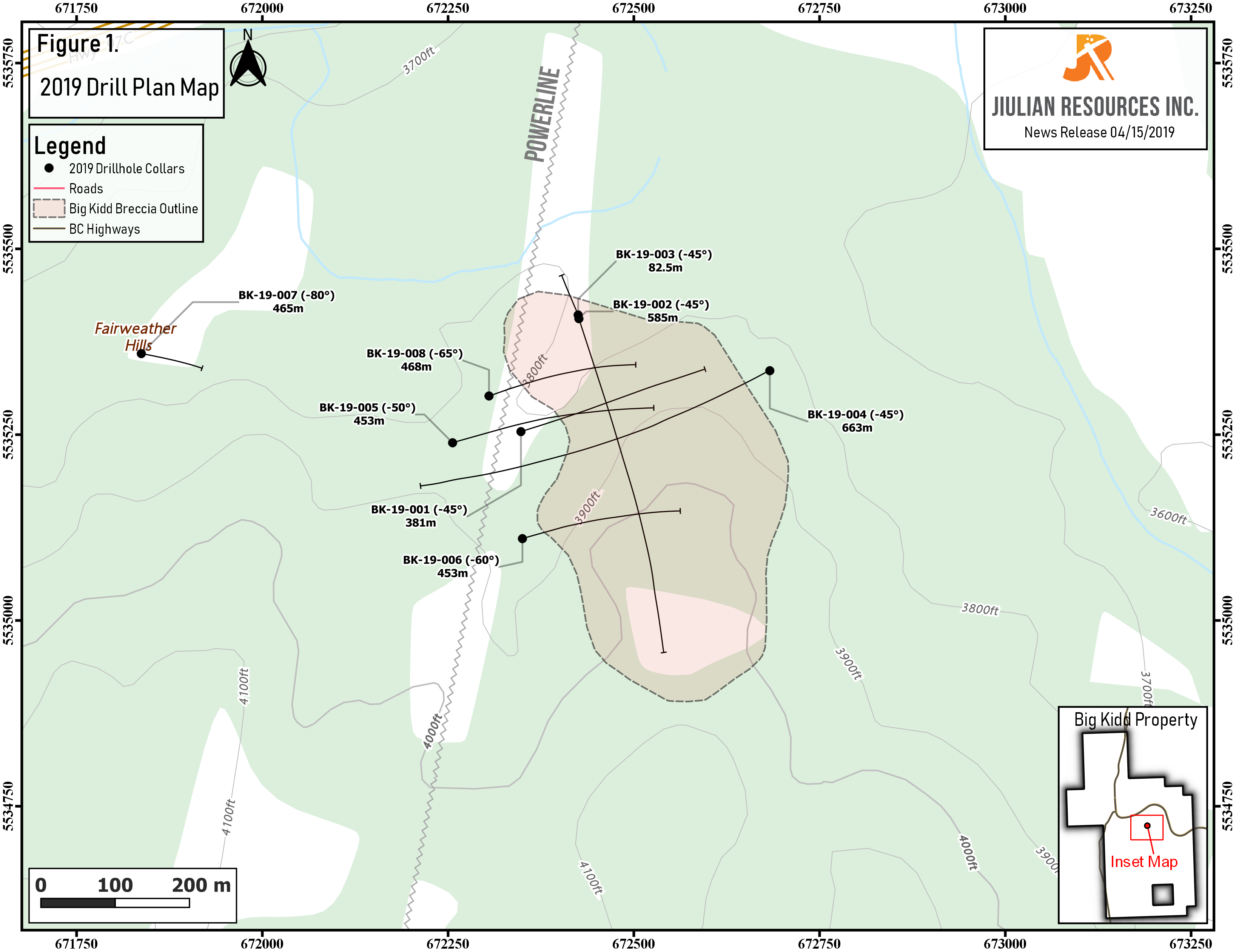 Exploration Highlights Southern British Columbia Gold-Copper Project