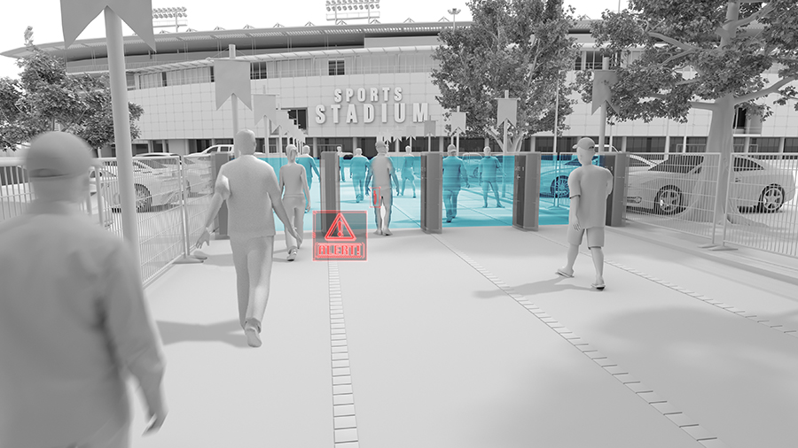 Real-Time 3D Imaging Achieved for Threat Detection System