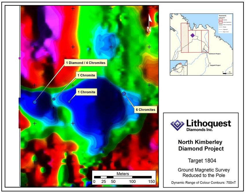 Microdiamond, Indicator Minerals Recovered at Explorer's Australia Project