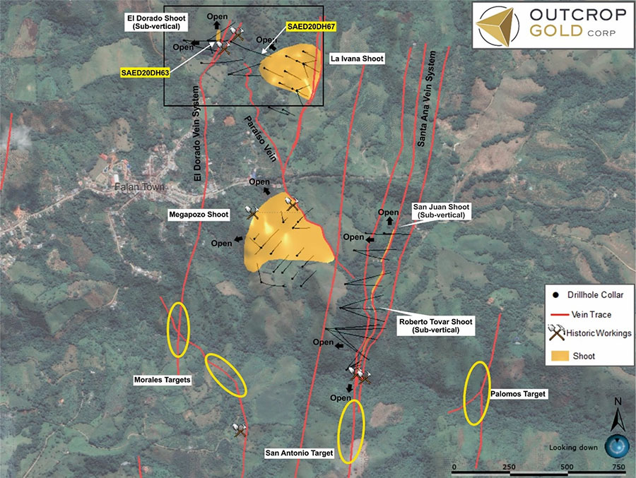 Drilling Advances Targets at Colombia Property