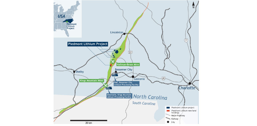 Mining Company Hits High-Grade Lithium Mineralization in North ... on king texas map, king of home, king of orchids, king james map,