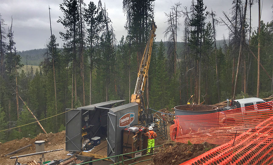 Gold Explorer's Drill Program at Idaho Project 'Off to Good Start'