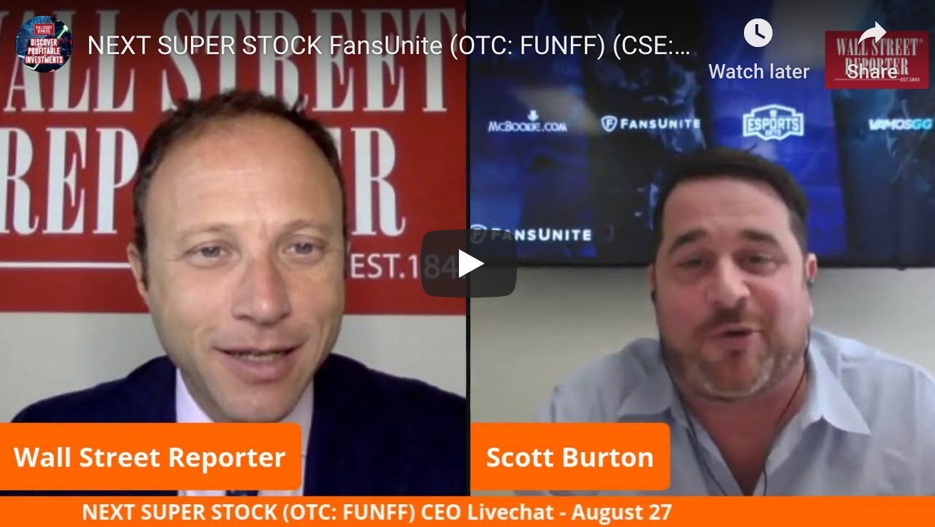 Watch The Wall Street Reporter's Next Super Stock with FansUnite