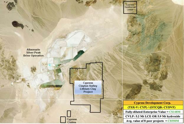 Is Cypress Development Corp. Cracking the Clay Code of Nevada's Lithium Abundance?